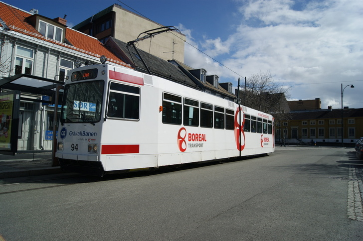 Gråkallbanen tramway.