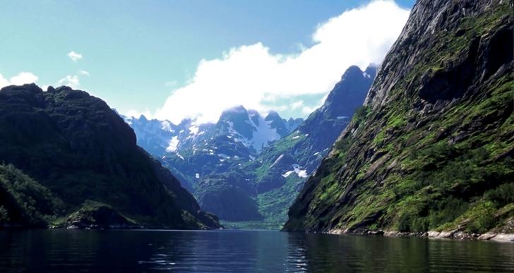 Bilde av Trollfjorden.