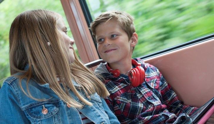 Bilde av passasjerer.