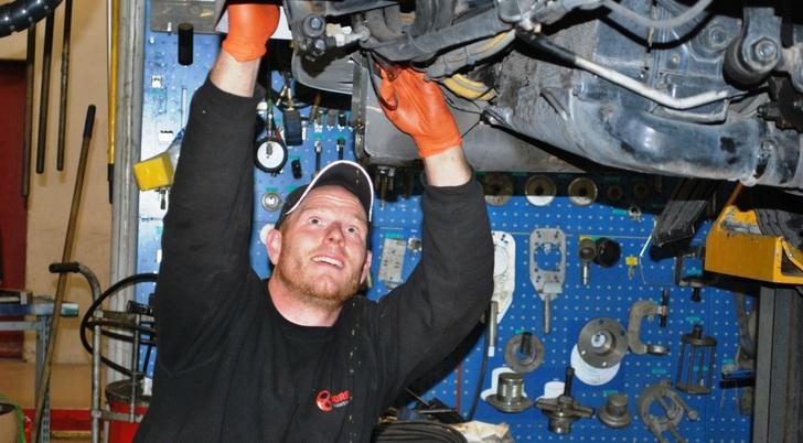 Bilde av mekaniker.