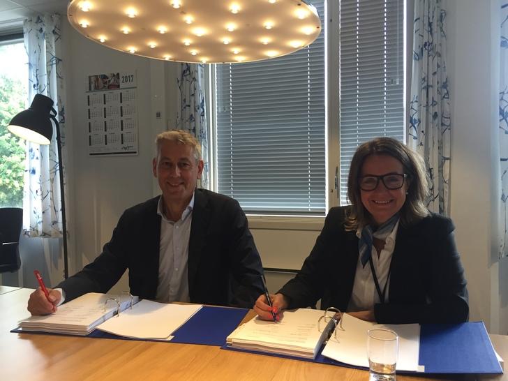 Boreal signerer miljøkontrakt på buss i Kristiansandsområdet