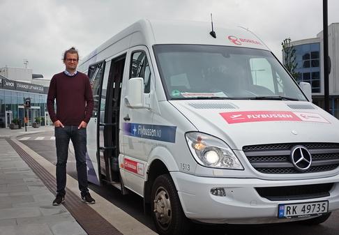 Atle Førsvoll, avdelingsleder for ekspressbuss og sesongprodukter i Boreal Travel.