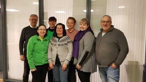 Daglig leder Roar Refseth i Boreal Travel sammen med Carrie Rundhaug, Marianne Knutsen, Karianne Wold Melo, Tanja Handke, Henriette Bismo Eilertsen og Jon Matte fra North Adventure.