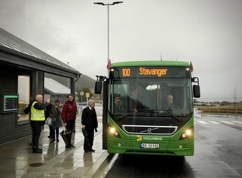 Boreal Buss har startet opp ruter gjennom Ryfylketunnelen.