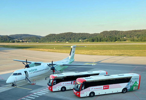 Flybussen Kristiansand starter opp igjen.