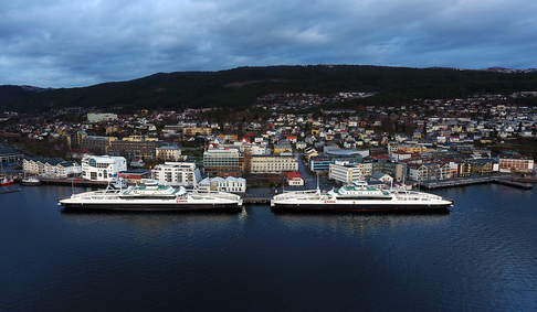 Søsterskipene «Harøyfjord» og «Karlsøyfjord» settes i drift i Molde-Vestnes-sambandet fra 1. januar.