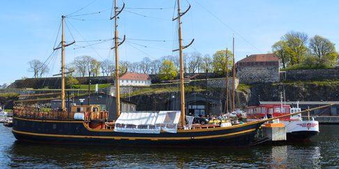 «Lady Mack» er Oslofjordens største seilskute og Trollcruise sitt flaggskip.